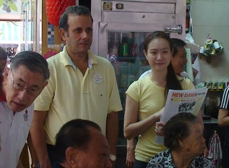 Favorable response from Toa Payoh residents to joint RP/SPP walkabout last Sunday