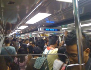 Two train faults on separate MRT lines in one evening
