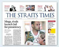 Police investigates Straits Times for by-election poll