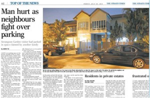 Better parking enforcement needed in private estates