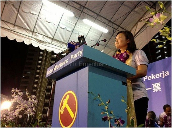 TR Emeritus reports on Workers' Party rally