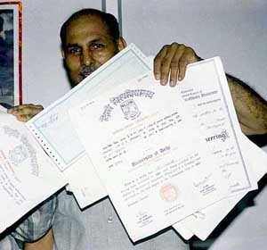Fake certificates widespread in India