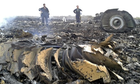 Malaysia Airlines flight MH17 crashes in east Ukraine