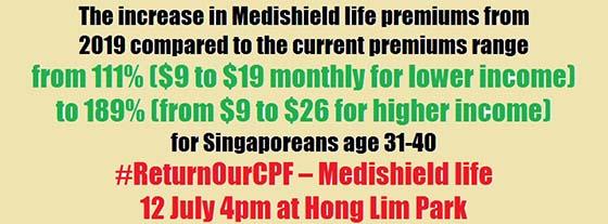 #ReturnOurCPF – MediShield Life @ HLP
