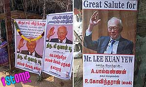 Why does India consider LKY their new god?