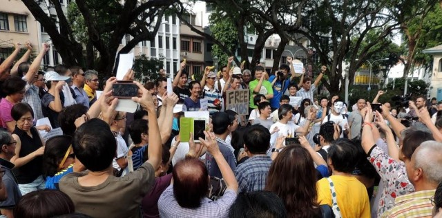 ST Forum reader: Resorting to protests not productive