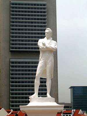 Stamford Raffles too was queried about his finances
