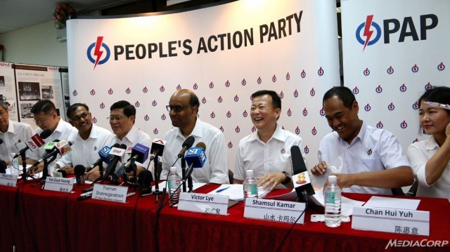 Tharman: PAP has a 'fighting chance' in Aljunied GRC