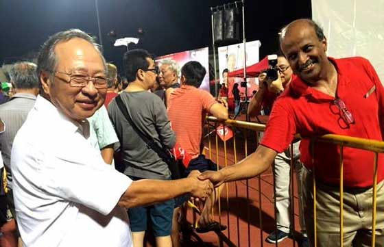 Dr Chee's 1st GE rally in 15 years 'sibeh' impressive!