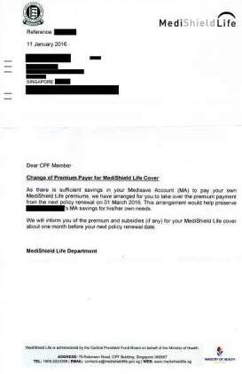 Full-time student forced to pay Medishield premiums