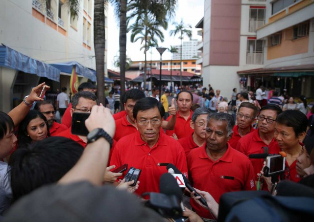 Dr Chee Soon Juan is SDP's candidate for Bukit Batok...