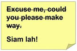Singlish vs Standard English: I say, RELAK, lah!