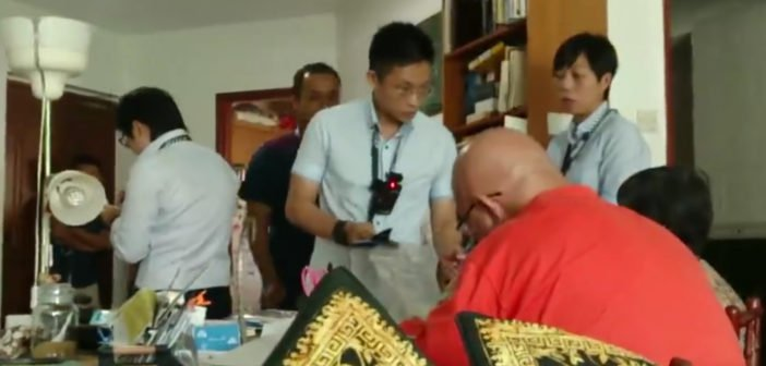 Teo Soh Lung visibly shaken from police raid involving 7-8 officers without search warrant