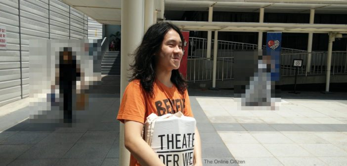 Amos Yee represents himself in court to stand trial against 8 charges