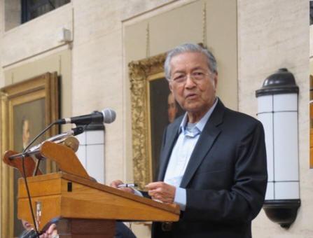 Mahathir speaks