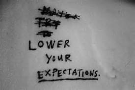 To get a job, lower your expectations - WTH!