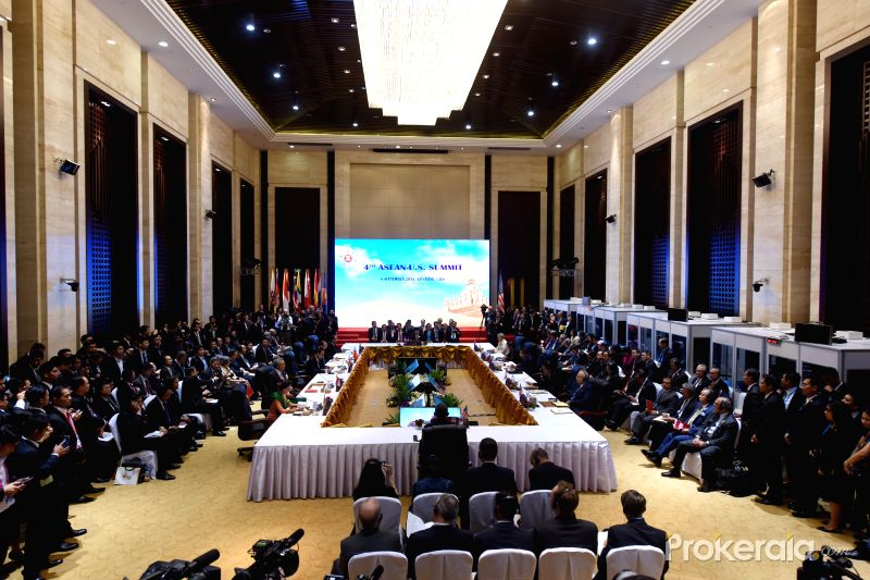 The Asean Summit in Laos