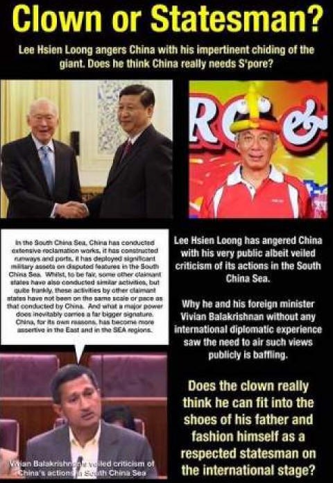 Delusional clown or principled statesman?