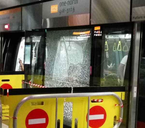 Just when you thought it was safe to take the MRT