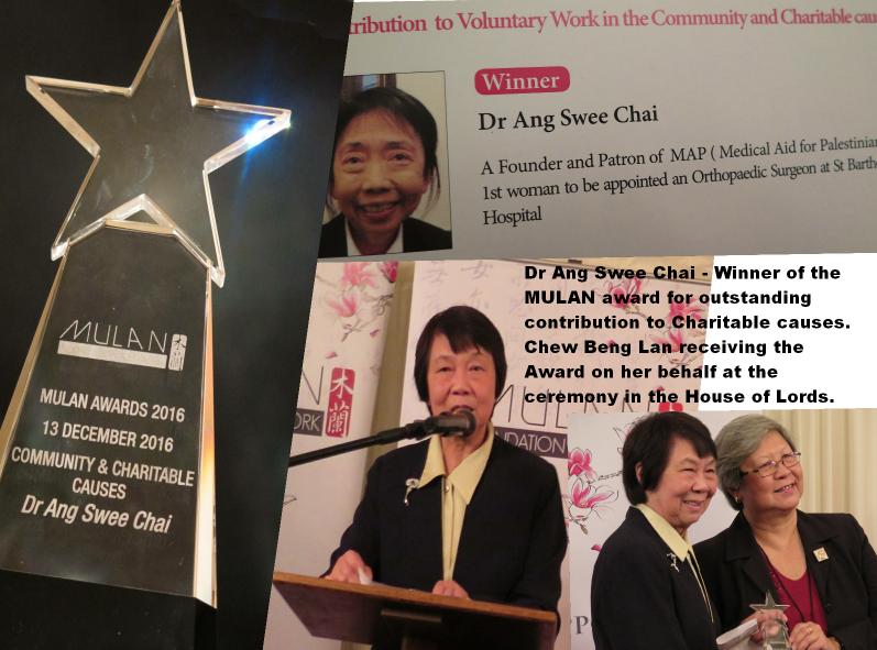 Humanitarian doctor & Singapore exile wins Mulan's...