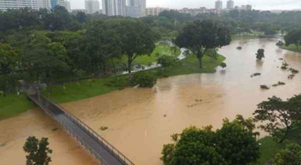 PUB: Normal for Bishan Park to flood during heavy rain