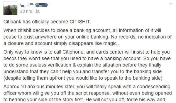 Citibank has officially become CITISHIT