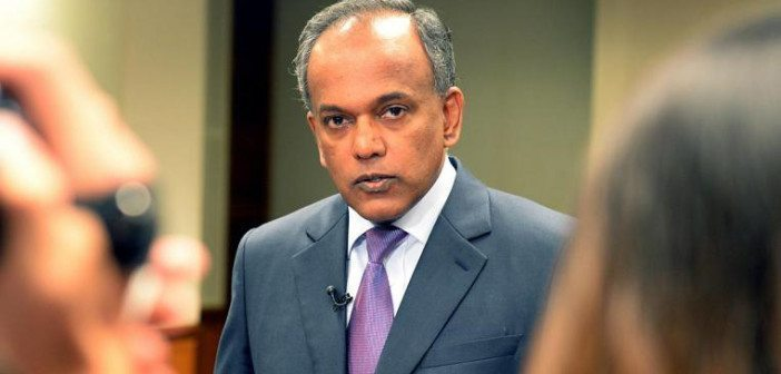 Is Minister K Shanmugam going to keep his silence on...