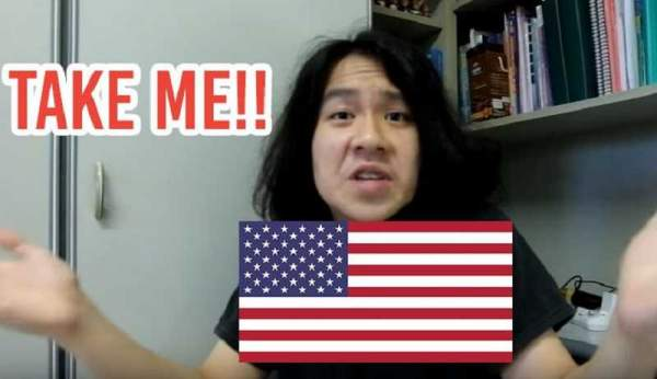 ICE of USA playing punk with Amos Yee?