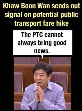 Pay more for public transport soon?