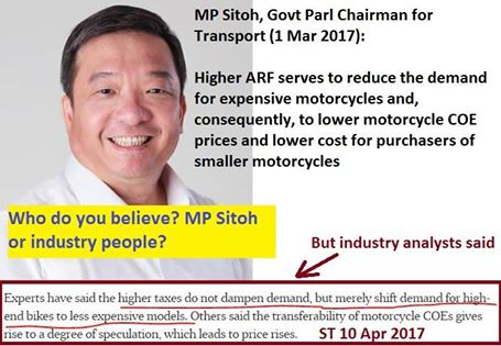 Parliamentary Chair for Transport MP Sitoh supports...