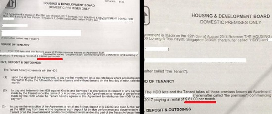 HDB mercilessly increases rental of young single mum...