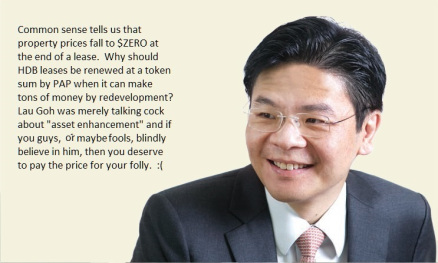 Lawrence Wong: HDB leasehold flat is not only a good...
