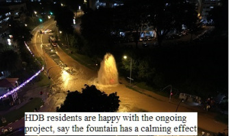 From LKY's garden city to PM Lee's fountain city?