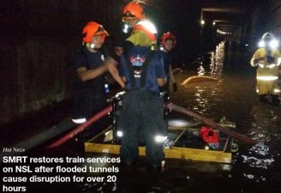 SMRT : Ponded tunnel also not SMRT top management fault, go blame LTA