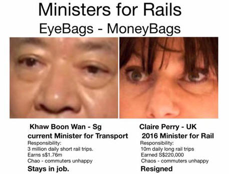 Paying more to Ministers so that they become too big...