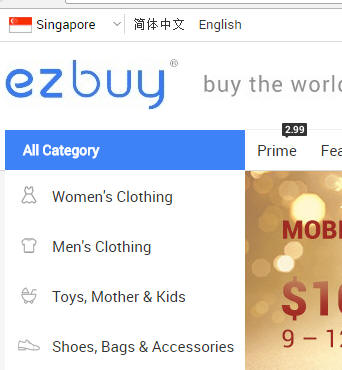 Statement by Ezbuy.sg on stoppage of service for Taobao...