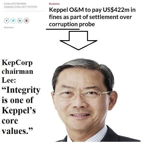 Keppel's Board Chairman Lee Boon Yang should resign