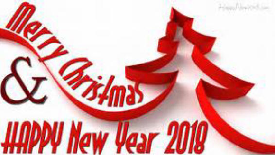 Wishing all A Merry Christmas and Happy New Year 2018