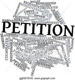 How can a petition be put up by Singaporeans?