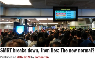 More cosmetic changes at SMRT won't resolve engineering...