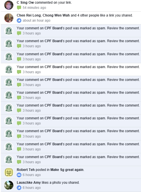 CPF Board defends itself against negative online comments:...