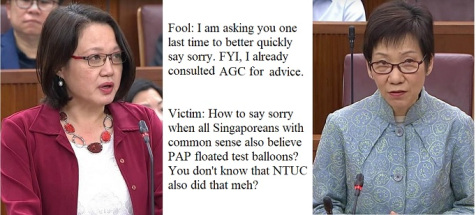 Minister Fu should consult Queen's Counsel for advice...