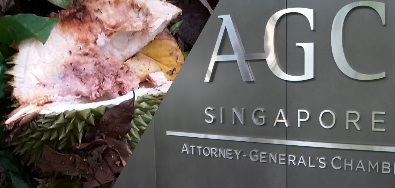 AG and the legacy of rotten durians
