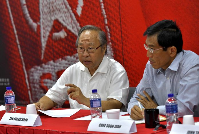Dr Tan Cheng Bock announces intention to enter politics...