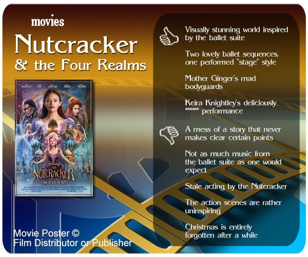 Movie Review – The Nutcracker and the Four Realms