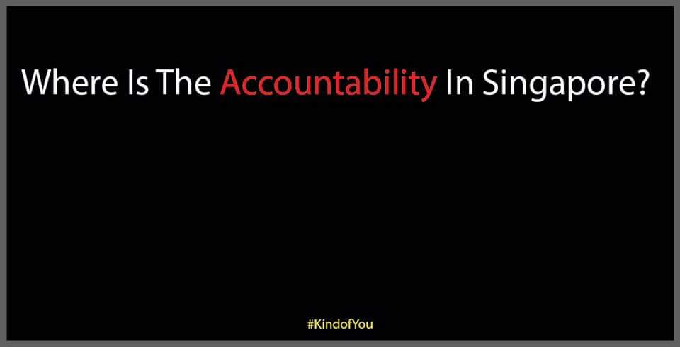 Where Is The Accountability In Singapore? Hong Lim...