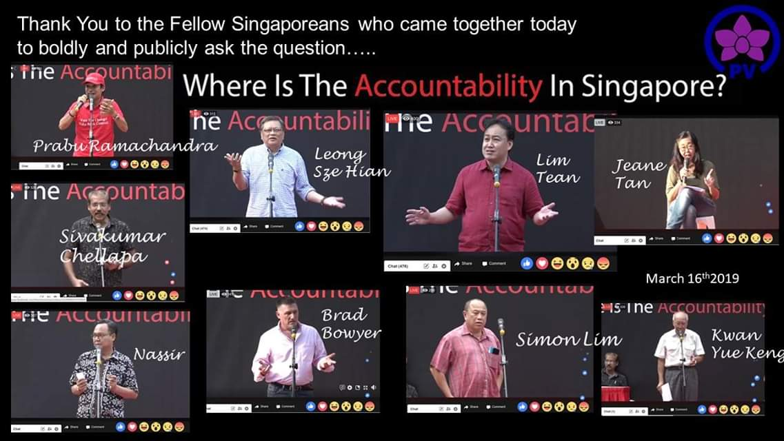 Interesting segments from Tean Lim's Rally speech