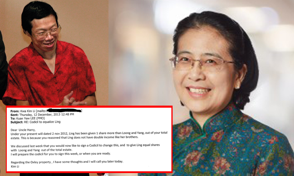 Dr Lee Wei Ling: 'Kwa Kim Lee Has Been Lying'