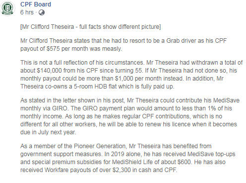 Weighing in on Clifford Theseira's grouses against the CPF system (Part 2)