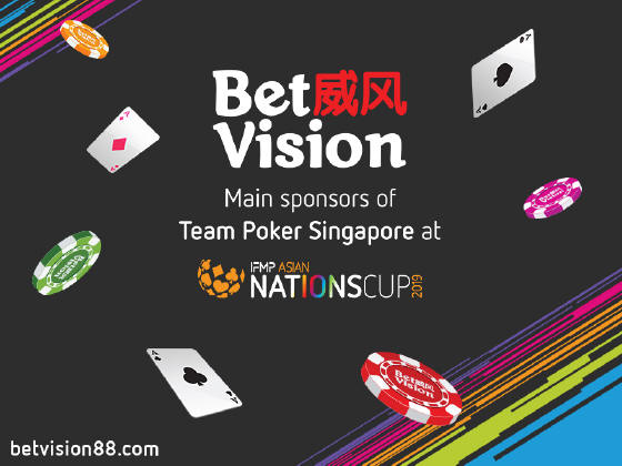 BetVision – The main sponsors of Team Singapore at the upcoming IFMP Asia Nations Cup!